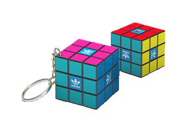 Portachiavi cubo di Rubik 3×3 (34mm)