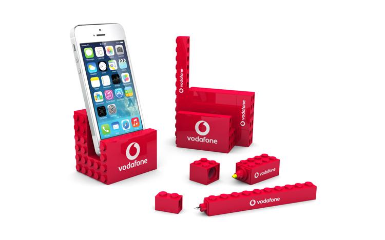 3 pcs Stationary set - Vodafone