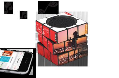 Bluetooth Speaker Rubik
