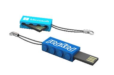 Office Blocks USB Drive
