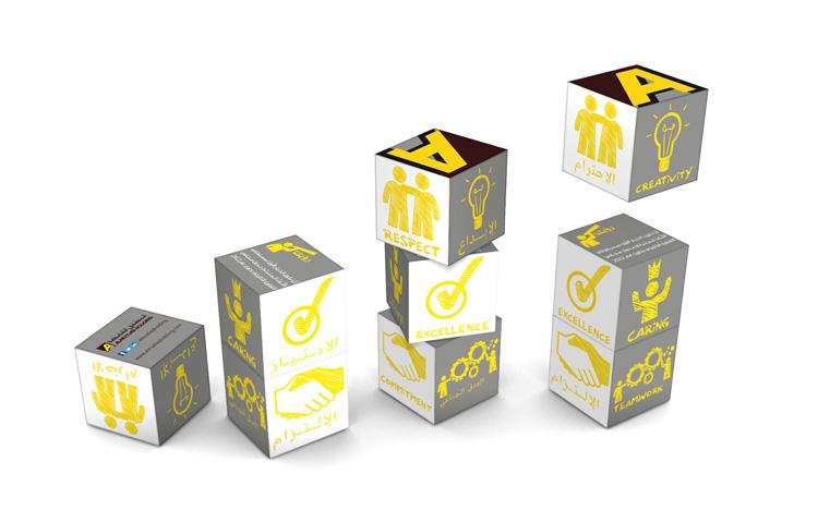 Magnetic Cube Calendar - Almutlaq Holding