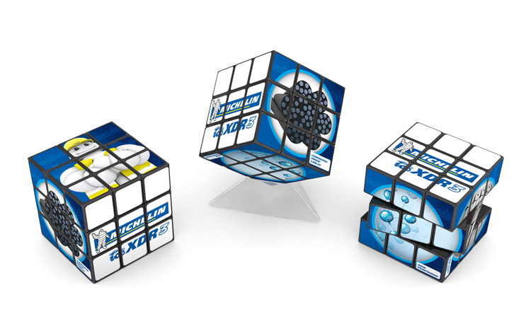 Rubik's 3x3 - Michelin