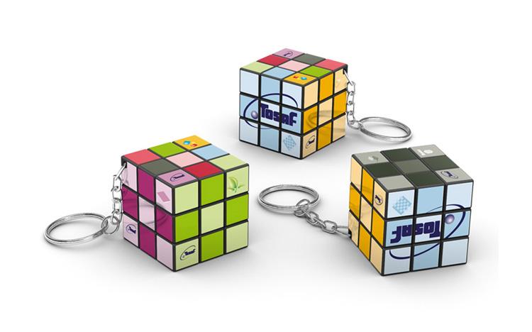 Rubik's 3x3 keychain - TOSAF