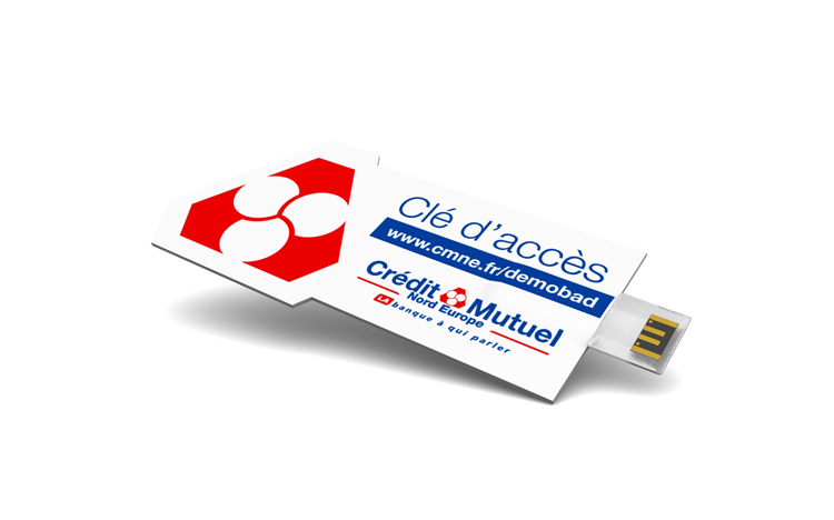 Custom Advertising Card - Credit Mutuel