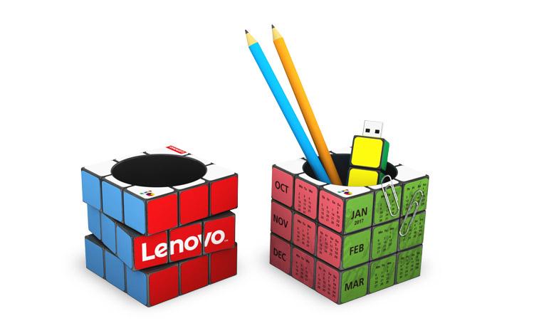 gadget-promozionale-portapenne-calendario-pubblicitario-online-personalizzato-rubik-innovativi-aziendali