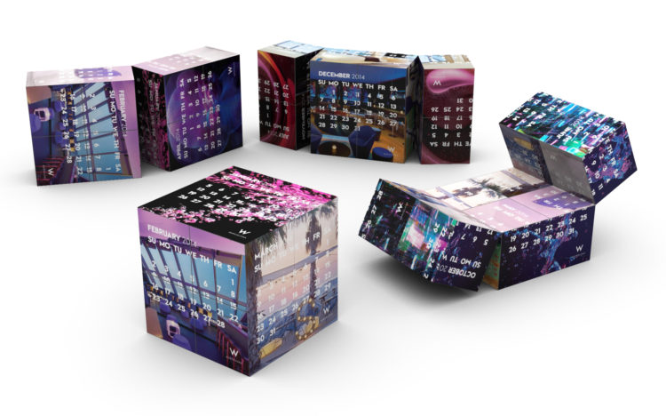 gadget-promozionale-personalizzato-calendario-magico-cubo-aziendale-innovativi-online-pubblicitario
