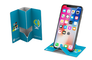 Pop Up Paper Phone Stand